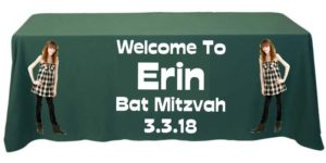 Table Cover Mitzvah Mart