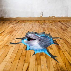 Custom Floor Decals Mitzvah Mart