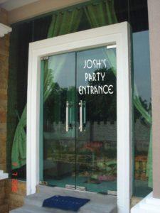 Mitzvah Mart Window Clings